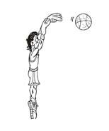 Basketball da colorare 13