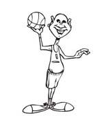 Basketball da colorare 17