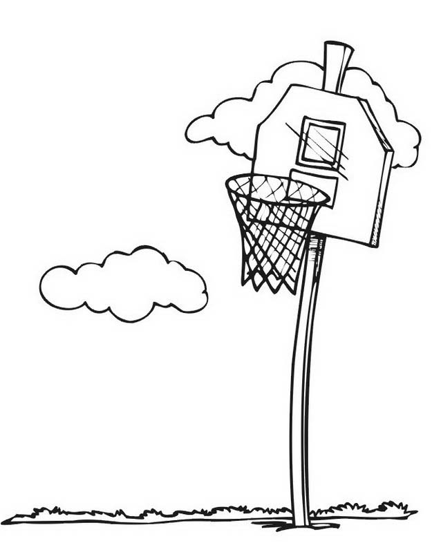 Basketball da colorare 24