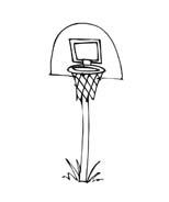 Basketball da colorare 25