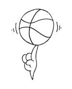 Basketball da colorare 27