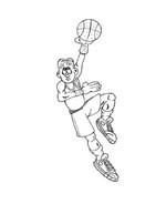 Basketball da colorare 28