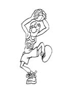 Basketball da colorare 29