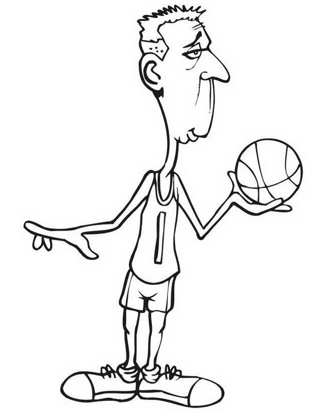 Basketball da colorare 32