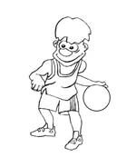 Basketball da colorare 33