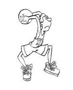 Basketball da colorare 37