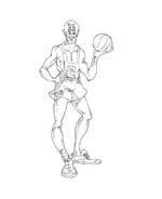 Basketball da colorare 39