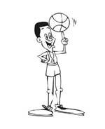 Basketball da colorare 40