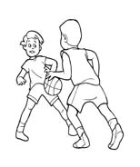 Basketball da colorare 42