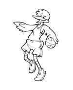 Basketball da colorare 44