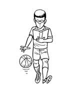 Basketball da colorare 46