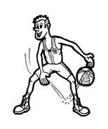 Basketball da colorare 51