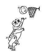 Basketball da colorare 54