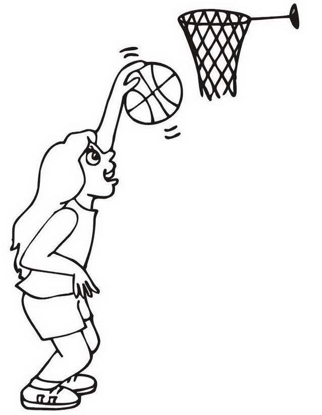 Basketball da colorare 58