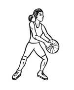 Basketball da colorare 59