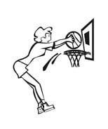 Basketball da colorare 64