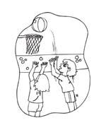 Basketball da colorare 78
