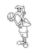 Basketball da colorare 82