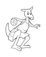 Basketball da colorare 83