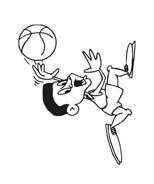 Basketball da colorare 85