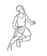 Basketball da colorare 86