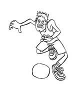 Basketball da colorare 87