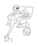 Basketball da colorare 90