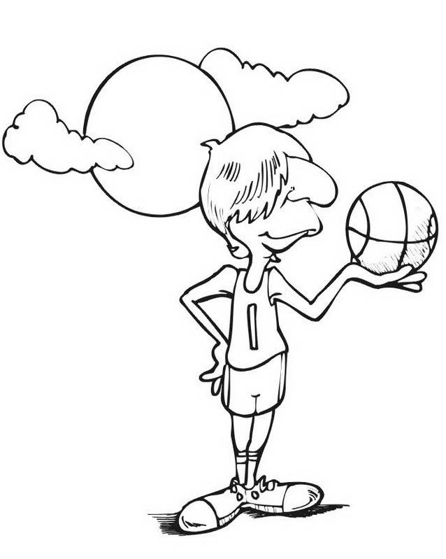 Basketball da colorare 91