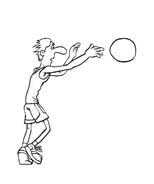 Basketball da colorare 92