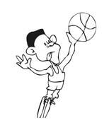 Basketball da colorare 93