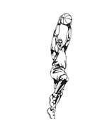 Basketball da colorare 94