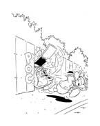 Paperino e paperina da colorare 199