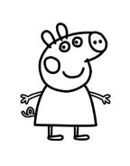 Peppa pig da colorare 19