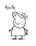 Peppa pig da colorare 21