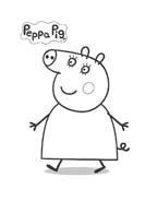 Peppa pig da colorare 23