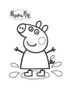 Peppa pig da colorare 25