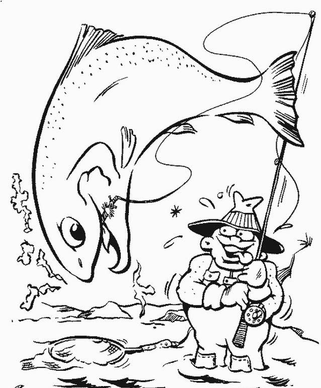 Pesca da colorare 2