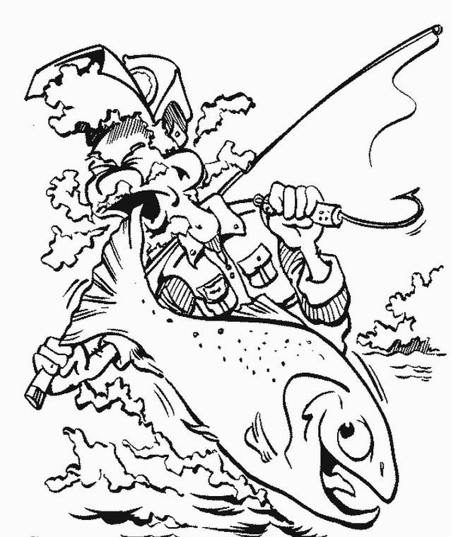 Pesca da colorare 5