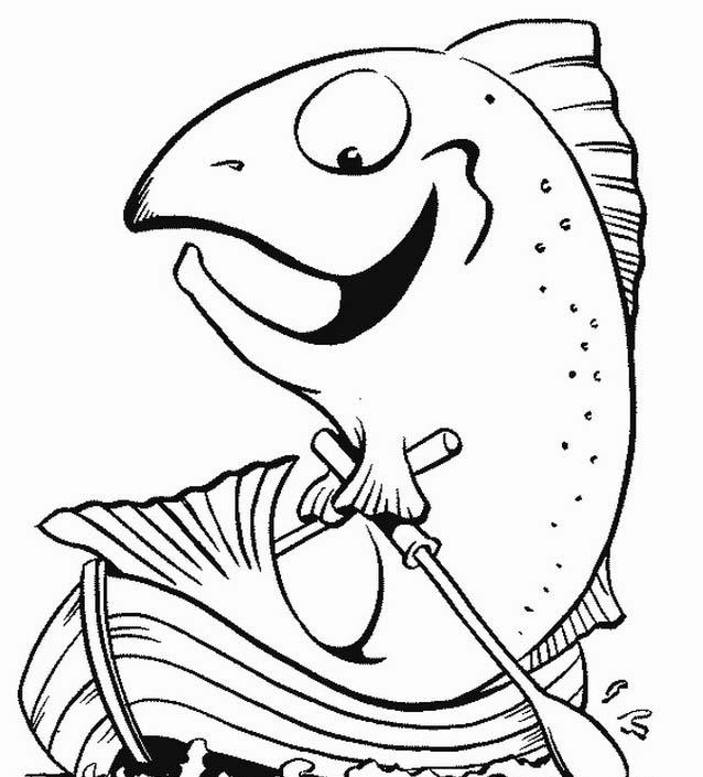 Pesca da colorare 11