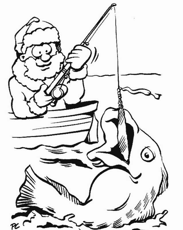 Pesca da colorare 13