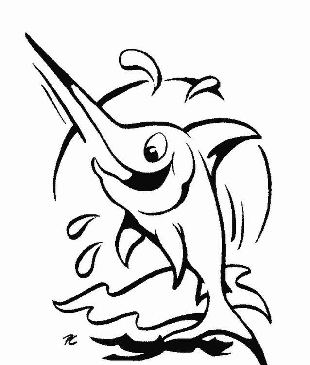 Pesca da colorare 22