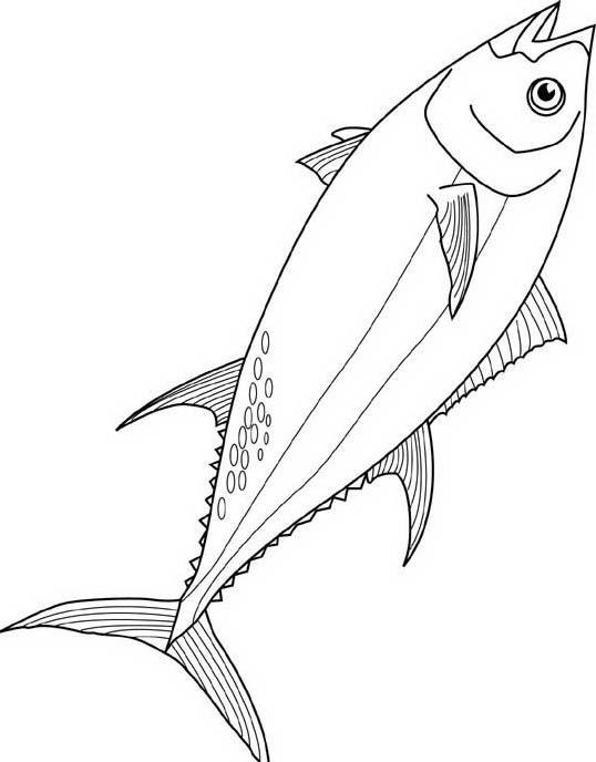 Pesce da colorare 89