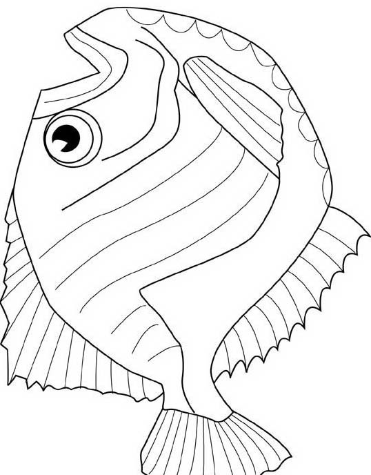 Pesce da colorare 101