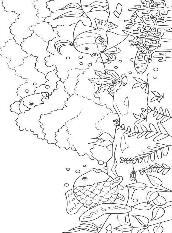 Pesce da colorare 102