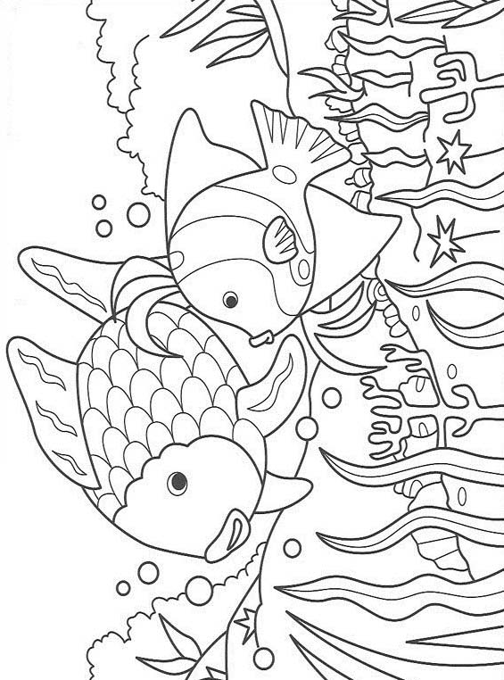 Pesce da colorare 103