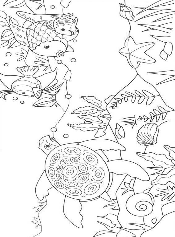 Pesce da colorare 106