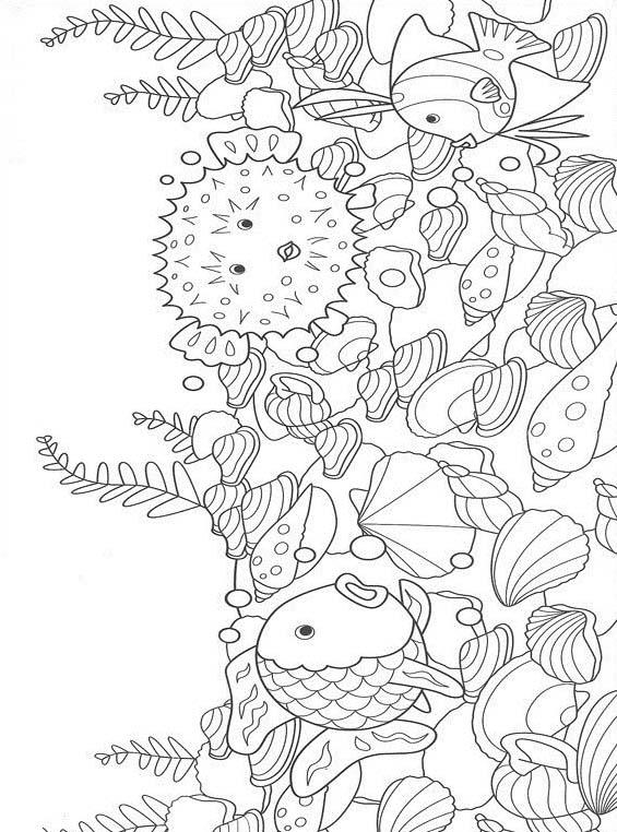 Pesce da colorare 109