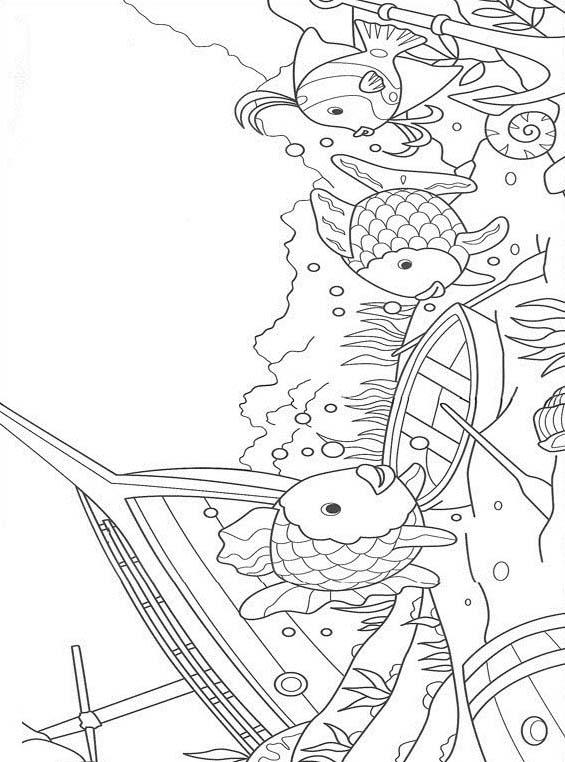 Pesce da colorare 111