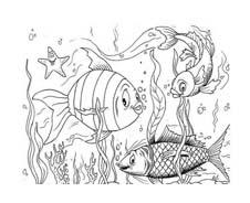 Pesce da colorare 124