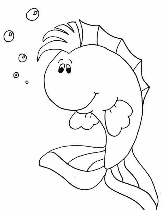 Pesce da colorare 125
